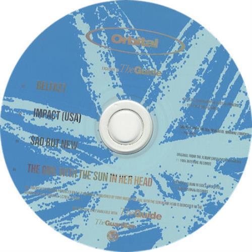 """Orbital Sampler CD single (CD5 / 5"""") UK ORTC5SA297824"""