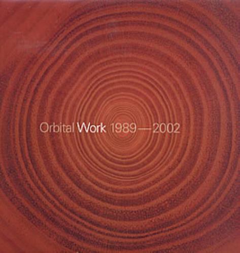 Orbital Work 1989 - 2002 2-LP vinyl record set (Double Album) UK ORT2LWO216408