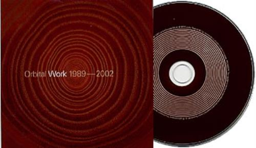 Orbital Work 1989-2002 CD album (CDLP) German ORTCDWO213594