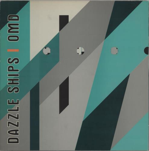 Orchestral Manoeuvres In The Dark Dazzle Ships vinyl LP album (LP record) UK OMDLPDA125863