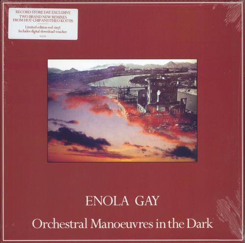 "Orchestral Manoeuvres In The Dark Enola Gay - RSD 2021 - Sealed 12"" vinyl single (12 inch record / Maxi-single) UK OMD12EN770293"