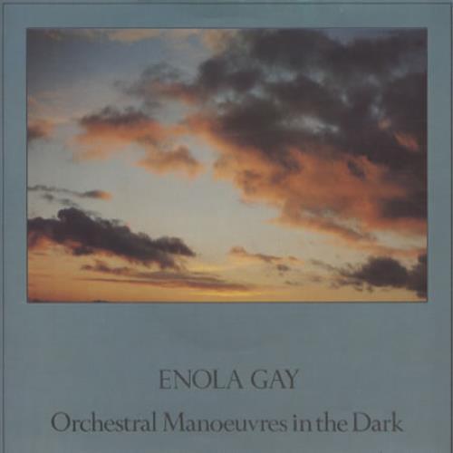 "Orchestral Manoeuvres In The Dark Enola Gay 7"" vinyl single (7 inch record) UK OMD07EN10239"