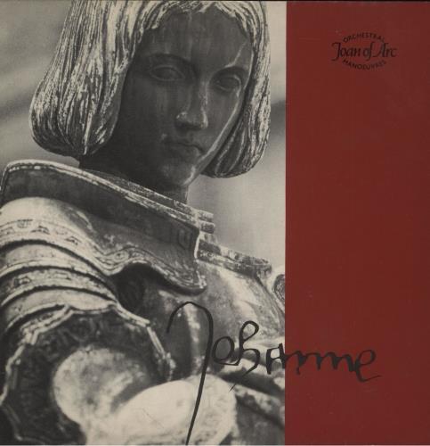 "Orchestral Manoeuvres In The Dark Joan Of Arc 7"" vinyl single (7 inch record) UK OMD07JO16713"