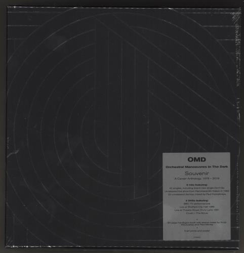Orchestral Manoeuvres In The Dark Souvenir - Sealed Box box set UK OMDBXSO736032