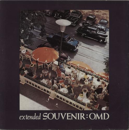 "Orchestral Manoeuvres In The Dark Souvenir 10"" vinyl single (10"" record) UK OMD10SO13340"