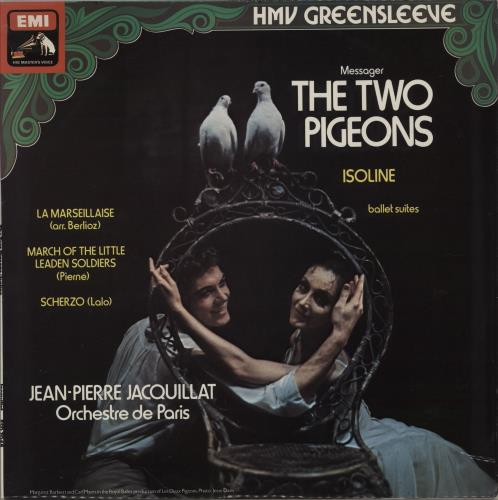 Orchestre De Paris The Two Pigeons vinyl LP album (LP record) UK 20GLPTH762092