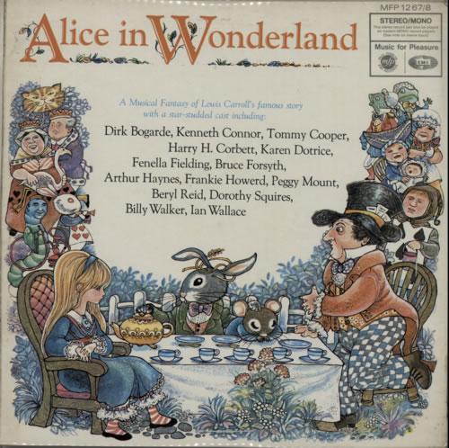 Original Cast Recording Alice In Wonderland Uk 2 Lp Vinyl
