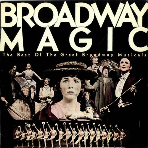 Original Cast Recording Broadway Magic vinyl LP album (LP record) UK 1OCLPBR492208