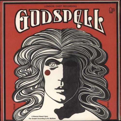 Original Cast Recording Godspell vinyl LP album (LP record) UK 1OCLPGO660567