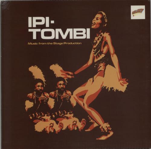 Original Cast Recording Ipi-Tombi: Music From The Stage Production vinyl LP album (LP record) UK 1OCLPIP601547