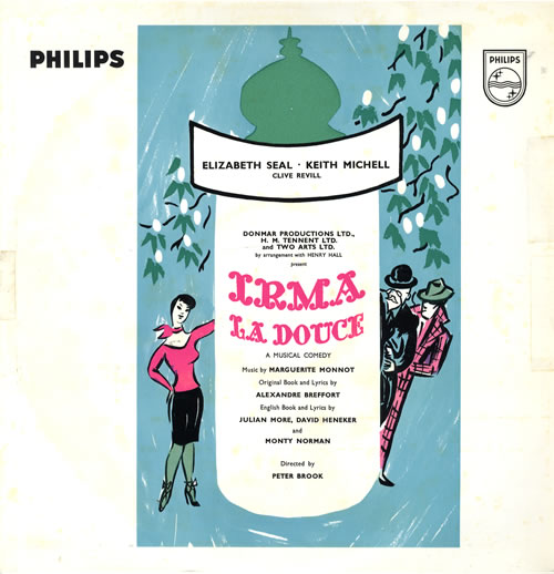 Original Cast Recording Irma La Douce vinyl LP album (LP record) UK 1OCLPIR563296