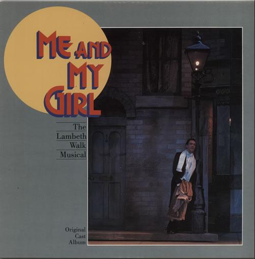 Original Cast Recording Me & My Girl vinyl LP album (LP record) US 1OCLPME627117