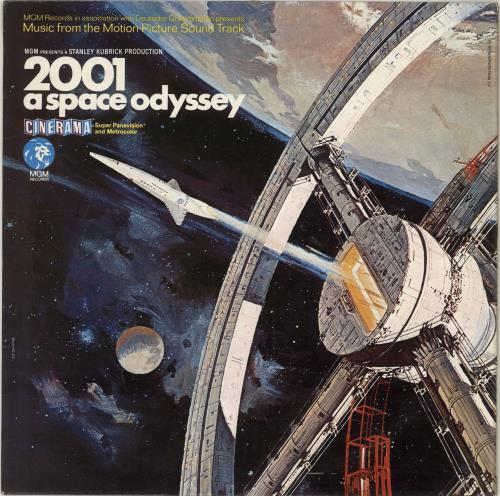 Original Soundtrack 2001: A Space Odyssey - 1st - EX vinyl LP album (LP record) UK OSTLPAS435042