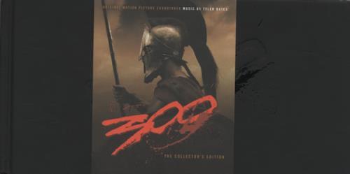 Original Soundtrack 300 - Sealed CD album (CDLP) US OSTCD469129