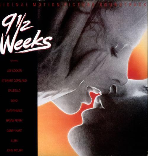 Original Soundtrack 9½ Weeks + Press Pack vinyl LP album (LP record) UK OSTLPWE510716