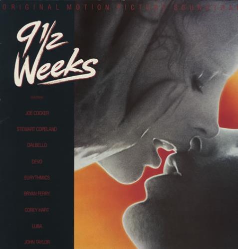 Original Soundtrack 9½ Weeks vinyl LP album (LP record) UK OSTLPWE393795