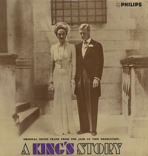 Original Soundtrack A King's Story vinyl LP album (LP record) UK OSTLPAK521417