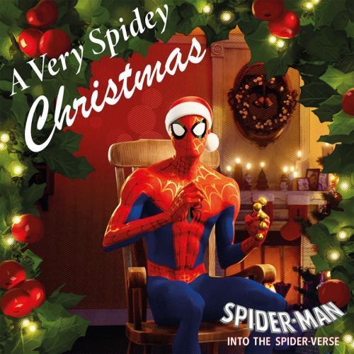 "Original Soundtrack A Very Spidey Christmas - 180 Gram White Vinyl 10"" vinyl single (10"" record) UK OST10AV758058"