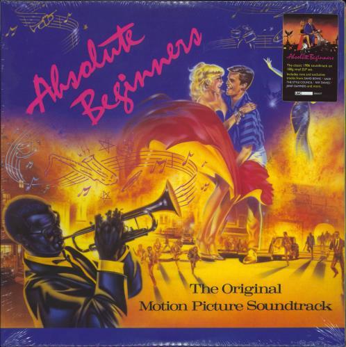 Original Soundtrack Absolute Beginners - 180gm - Sealed 2-LP vinyl record set (Double Album) UK OST2LAB774376