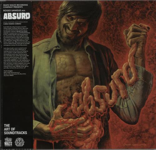 Original Soundtrack Absurd (Rosso Sangue) 2-LP vinyl record set (Double Album) UK OST2LAB647937