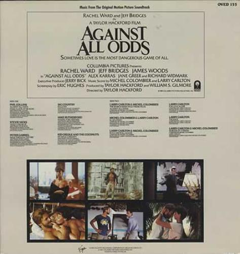 Original Soundtrack Against All Odds vinyl LP album (LP record) UK OSTLPAG392008