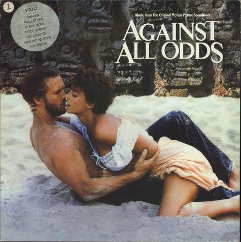 Original Soundtrack Against All Odds vinyl LP album (LP record) UK OSTLPAG547506