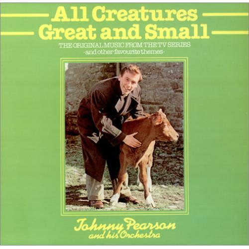 Original Soundtrack All Creatures Great And Small vinyl LP album (LP record) UK OSTLPAL416747