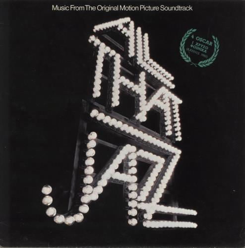 Original Soundtrack All That Jazz vinyl LP album (LP record) Greek OSTLPAL733381