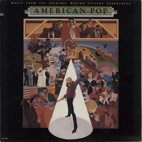 Original Soundtrack American Pop vinyl LP album (LP record) US OSTLPAM751715