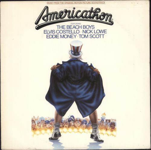 Original Soundtrack Americathon - EX vinyl LP album (LP record) US OSTLPAM738663