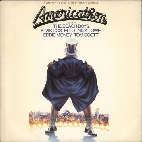 Original Soundtrack Americathon vinyl LP album (LP record) US OSTLPAM718052