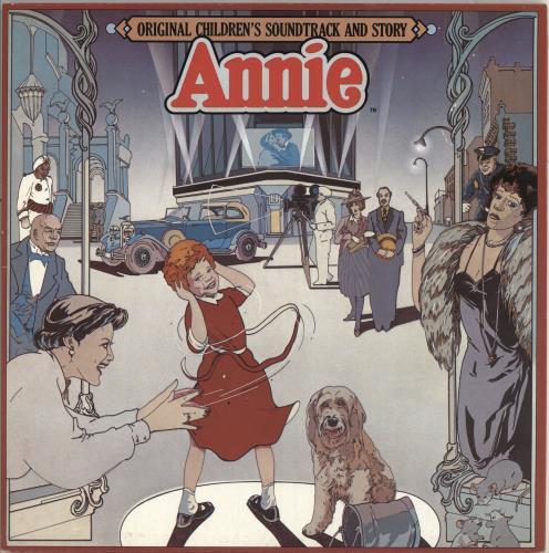 Original Soundtrack Annie vinyl LP album (LP record) UK OSTLPAN717955