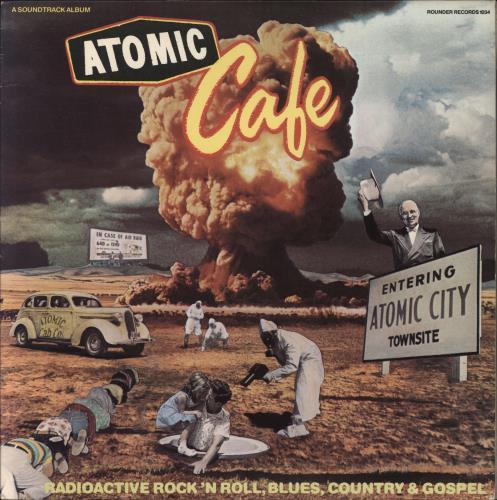 Original Soundtrack Atomic Café vinyl LP album (LP record) US OSTLPAT507379