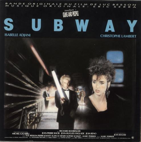 "Original Soundtrack Bande Originale Du Film ""Subway"" vinyl LP album (LP record) French OSTLPBA712835"