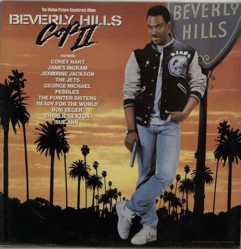 Original Soundtrack Beverly Hills Cop II vinyl LP album (LP record) UK OSTLPBE584310