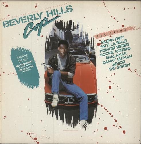 Original Soundtrack Beverly Hills Cop vinyl LP album (LP record) UK OSTLPAX331396