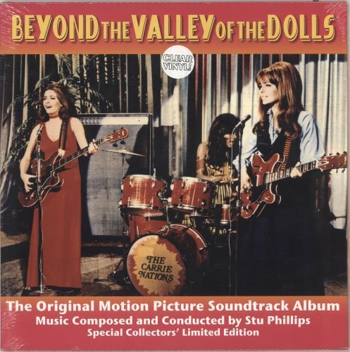 Original Soundtrack Beyond The Valley Of The Dolls - Clear Vinyl - Sealed vinyl LP album (LP record) UK OSTLPBE729731