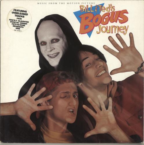 Original Soundtrack Bill & Ted's Bogus Journey vinyl LP album (LP record) UK OSTLPBI675977
