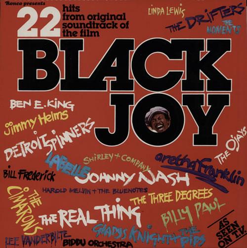 Original Soundtrack Black Joy vinyl LP album (LP record) UK OSTLPBL577798