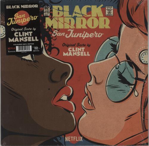 Original Soundtrack Black Mirror: San Junipero - Turquoise Vinyl vinyl LP album (LP record) UK OSTLPBL764284