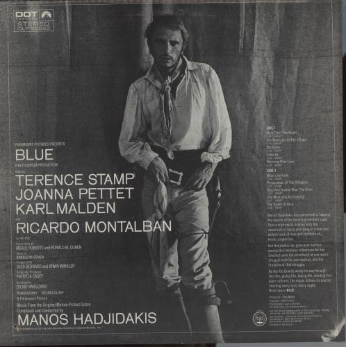 Original Soundtrack Blue (Music From The Original Motion Picture Score) vinyl LP album (LP record) US OSTLPBL761896