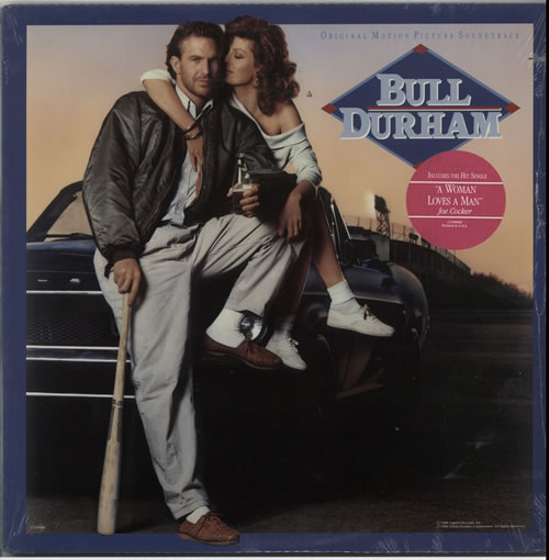 Original Soundtrack Bull Durham - Sealed vinyl LP album (LP record) US OSTLPBU627101