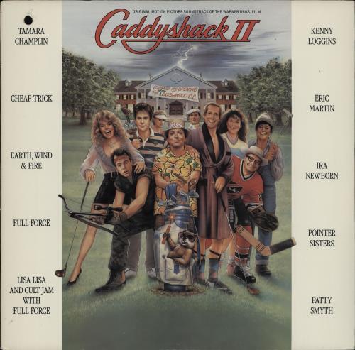 Original Soundtrack Caddyshack II vinyl LP album (LP record) US OSTLPCA751711