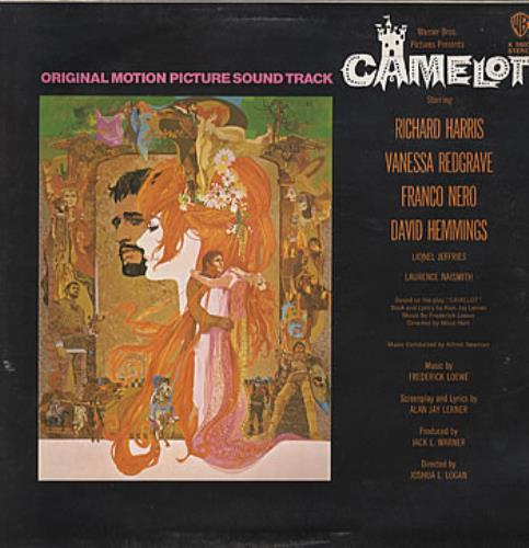 Original Soundtrack Camelot vinyl LP album (LP record) UK OSTLPCA321936