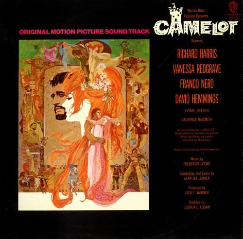 Original Soundtrack Camelot vinyl LP album (LP record) UK OSTLPCA490126
