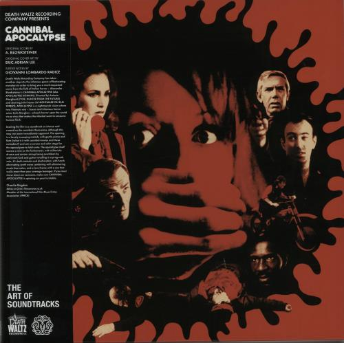 Original Soundtrack Cannibal Apocalypse - Chestblaster Vinyl vinyl LP album (LP record) UK OSTLPCA647911