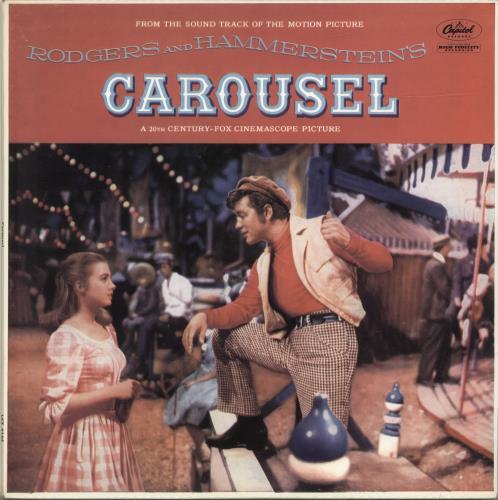 Original Soundtrack Carousel - 2nd vinyl LP album (LP record) UK OSTLPCA504825