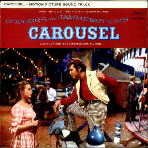 Original Soundtrack Carousel - Lime Green vinyl LP album (LP record) UK OSTLPCA523835