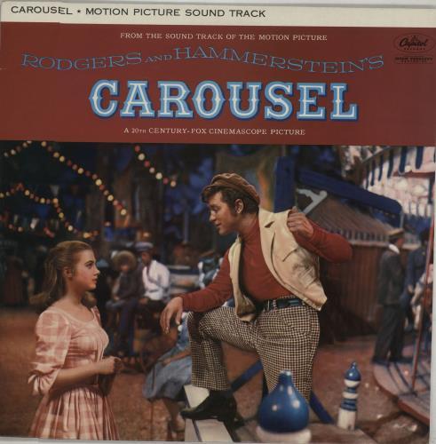 Original Soundtrack Carousel vinyl LP album (LP record) UK OSTLPCA669113