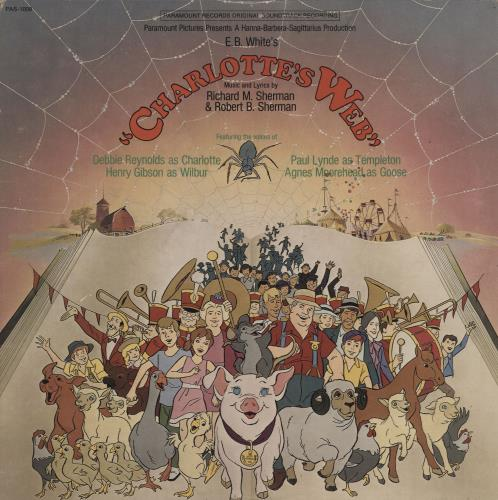 Original Soundtrack Charlotte's Web vinyl LP album (LP record) US OSTLPCH761991